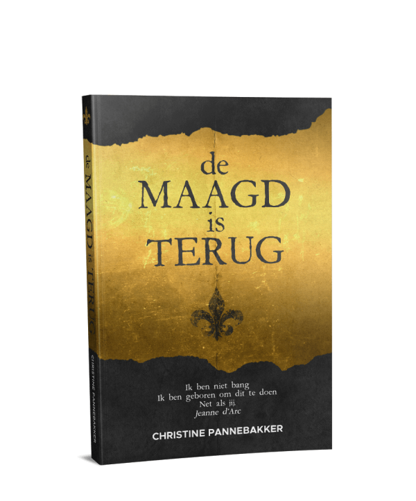 de maagd is terug mockup front transpaarent